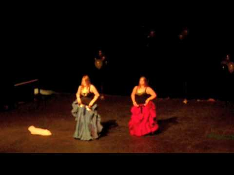 Ya Habibi Desi And Jess Belly Dance! video