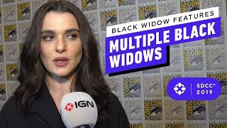 Black Widow Features Multiple Black Widows - Comic Con 2019