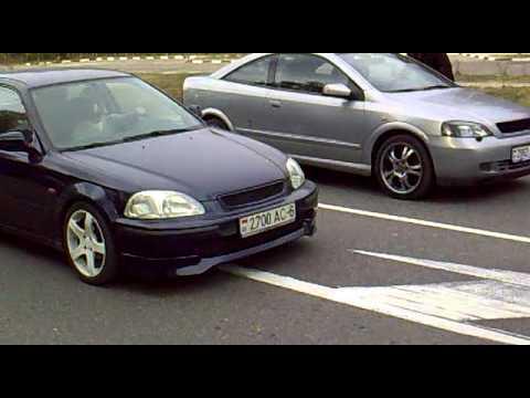Honda Civic 1.6 Turbo Honda Civic 1.6 B16a vs Opel