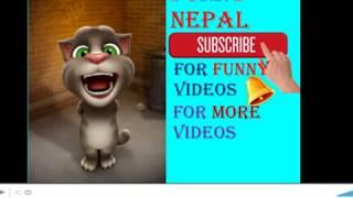 new nepali talking tom jokes Dad Vs son funny comedy video 2018