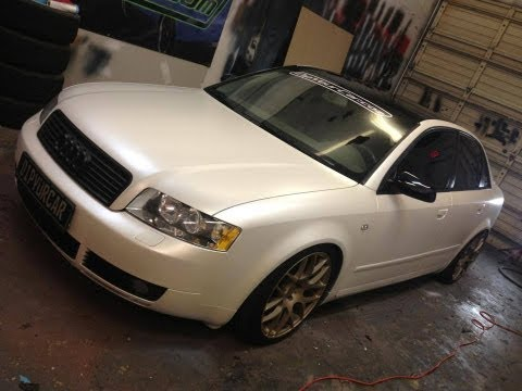 Pearl White Plasti Dip Car