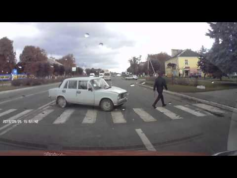 Авария на переходе г. Гайсин Винницкая область