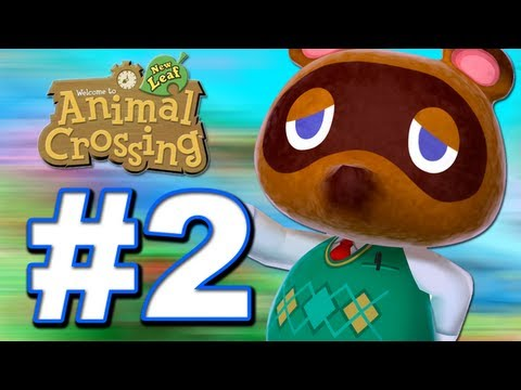 Animal Crossing: New Leaf  Walkthrough / 3DS Let's Play Gameplay
