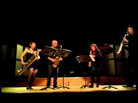 Qué Saxy! Het Zuilens Saxofoon Kwartet video
