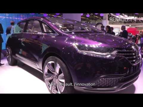 Design et innovation au salon de Francfort 2013 - Renault TV