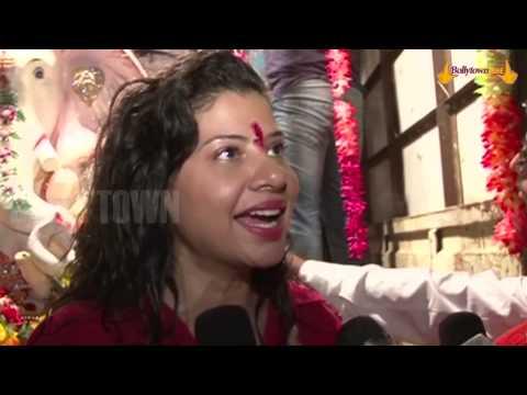 Bhojpuri Item Girl Sambhavna Seth | Ganpati Visarjan