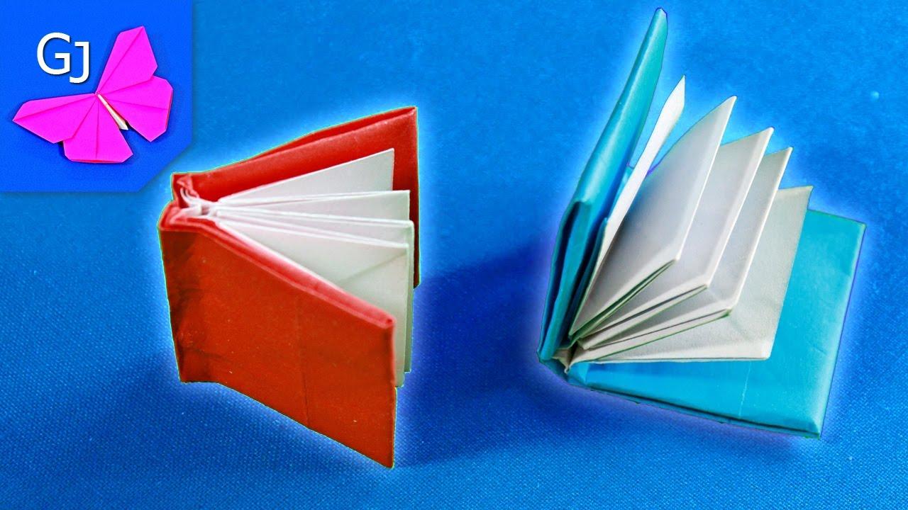 Книжечка  из бумаги оригами