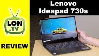 "Lenovo IdeaPad 730S Review - 13"" Lightweight Windows 10 Ultrabook"