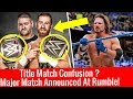 Championship Match Confusion ? At Royal Rumble ! WWE Smackdown live 2/1/2018 Highlights January 2 MP3