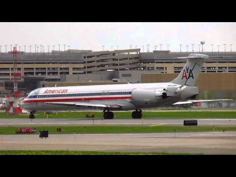 American Airlines [N9409F] MD-83 (DC-9-83) *LOUD* Take-Off!