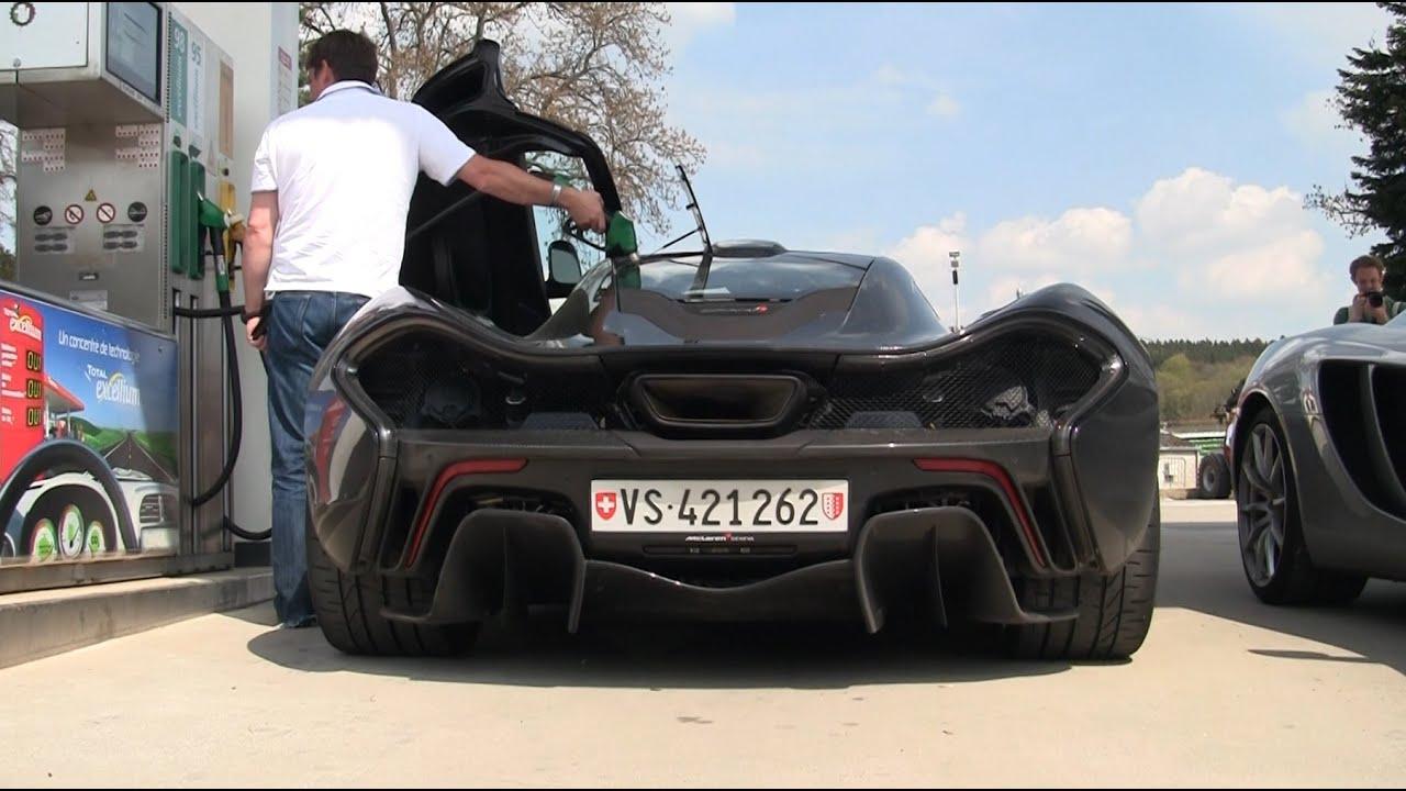 2x McLaren P1 & McLaren 650S Start Up - Accelerations - Flybys ...