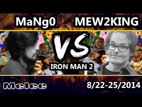 STR - C9 Mango Vs. P4K EMP | Mew2King - SSBM - 26 Character Iron Man 2 - Melee