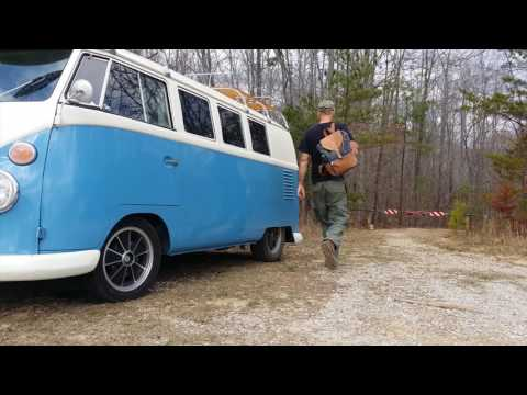 62 VW Bus Ride Along Caney Creek Falls, AL.