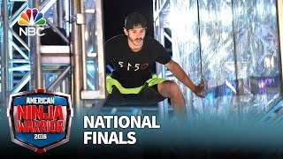 Flip Rodriguez at the National Finals: Stage 1 - American Ninja Warrior 2016