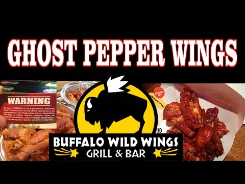 Buffalo Wild Wings Ghost Pepper Wings & Afterburn FreakEating in Apple ...