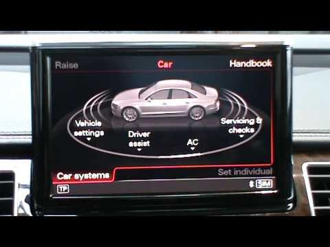 2011 Audi A8 Mmi 3rd Generation With Fingertip Entry