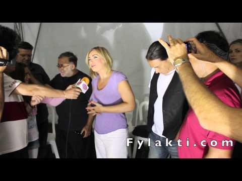 Συνέντευξη Ρίτας Αντωνοπούλου για τη συναυλία στη πλαζ Λίμνης Πλαστήρα 24-8-14 - Fylakti.com