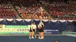 チアリーディング部 2012 JAPAN CUP Division1