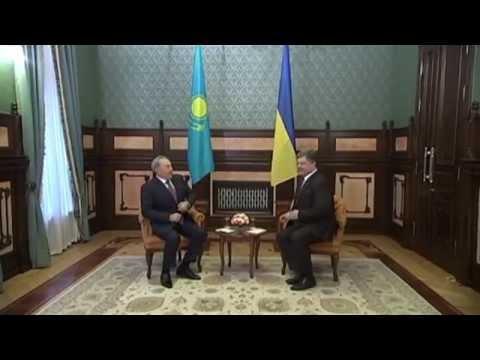Kazakhstan President Visits Ukraine: Nazarbayev boosts ties away from Kremlin's Eurasian Union