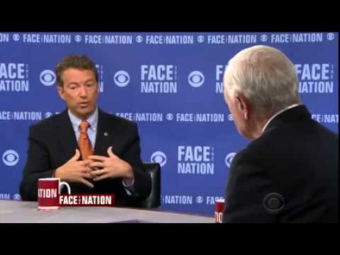 Rand Paul Appears on CBS Face the Nation- April 12, 2015