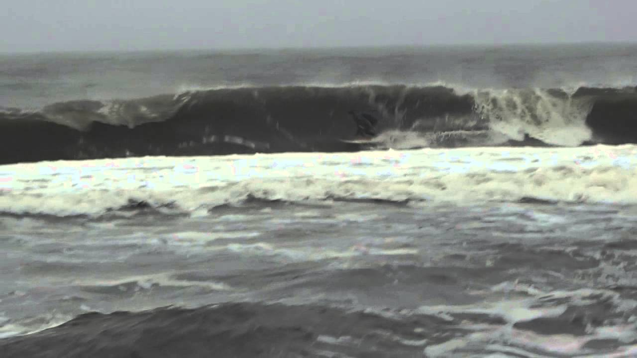Surfing new jersey l wood crew youtube for Surf fishing nj license
