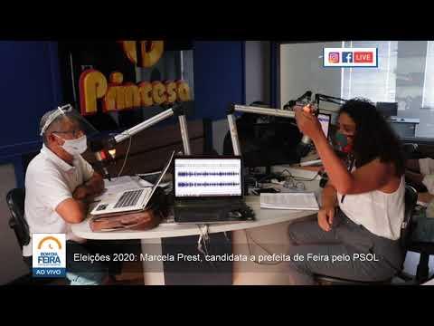 Eleições 2020: Marcela Prest, candidata a prefeita de Feira de Santana pelo PSOL