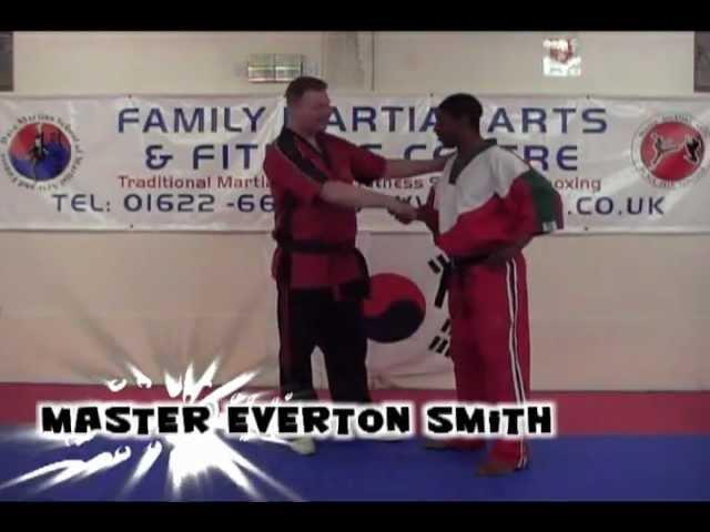 Master David Martin Of Family Martial Arts Introduces Master Everton Smith