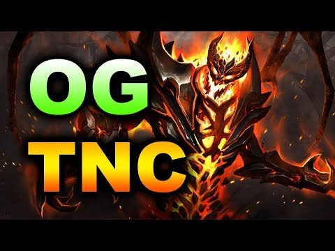 TNC vs OG - MEGACREEPS, RAPIER - MDL MINOR DOTA 2