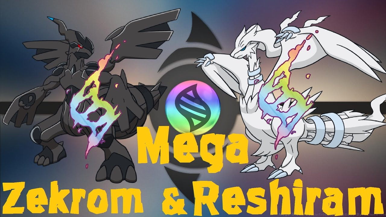 Mega Zekrom And Reshiram Pokemon Omega Ruby And Alpha