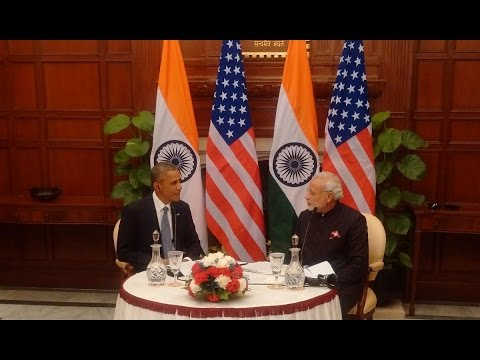 PM Narendra Modi & US President Barack Obama in