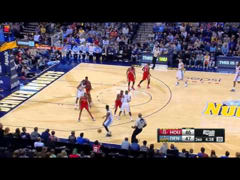 NBA 2015-16 Season Danilo Gallinari 27 pts vs Rockets Rockets@Nuggets November 13, 2015