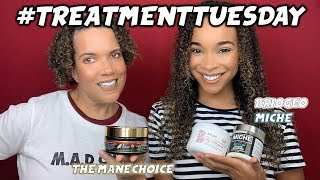 #TreatmentTuesday | The Mane Choice Do It Fro The Culture & Miche + Briogeo