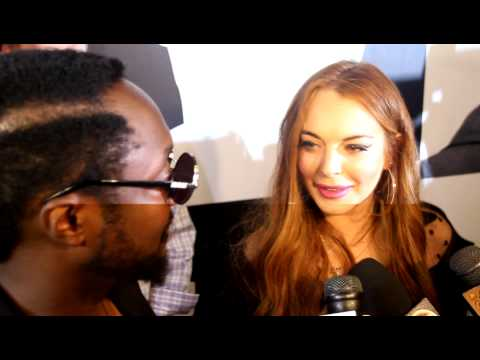 "Will .I. Am and Lindsay Lohan ""WillPower"" Album Wrap Party at Avalon-CelebrityHype"