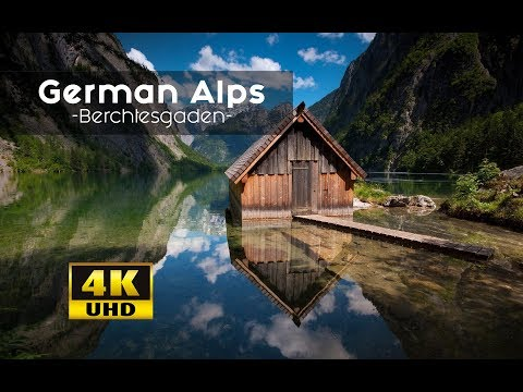 German Alps From Above MUST SEE Views: Berechtesgadener Land 4k | Königsee