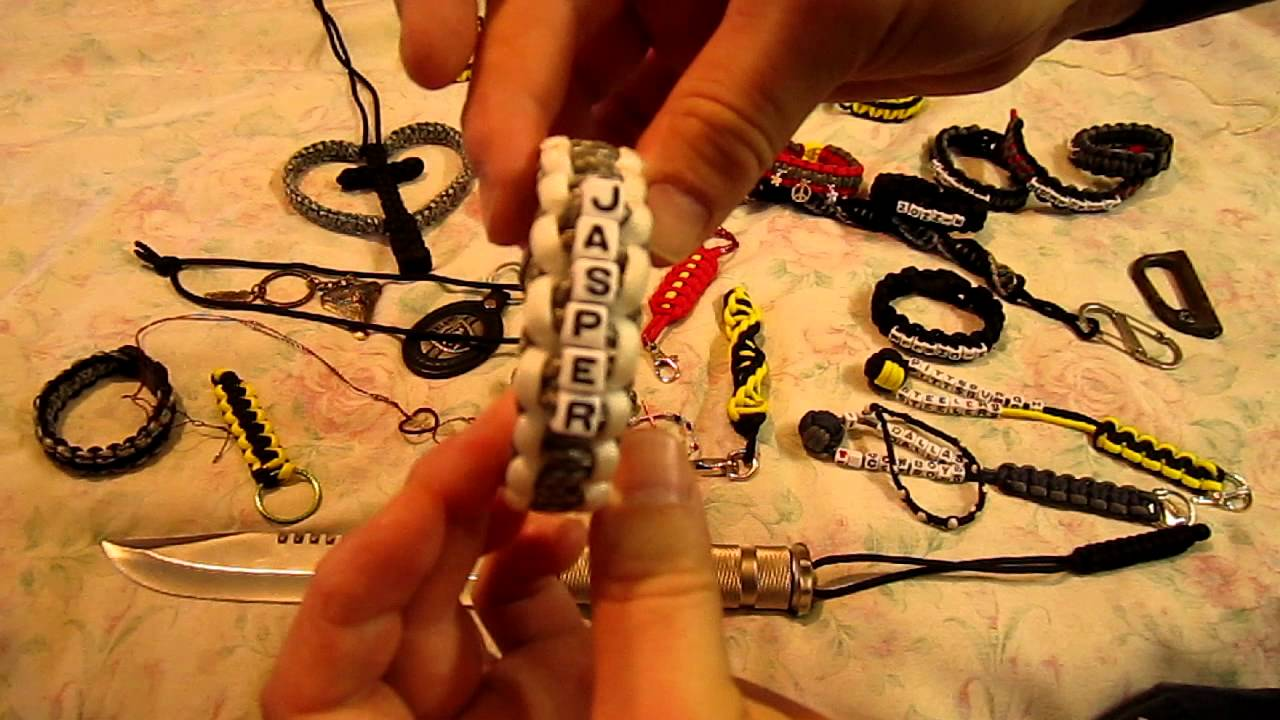 Paracord things youtube for Cool things to do with paracord