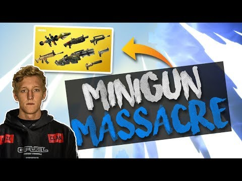 MINIGUN IS OP!!! 21 Kill Solo Gameplay - Solid Gold v2 (Fortnite Battle Royale)