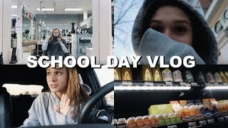 VLOGMAS: changing my hair color!