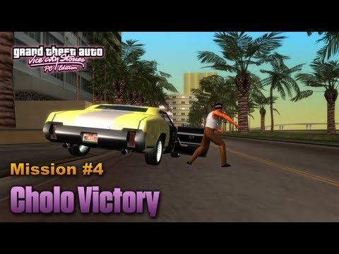 GTA Vice City Stories PC Edition - Mission #4 - Cholo Victory