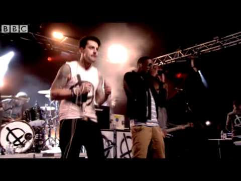 "Lostprophets & Labrinth - ""Earthquake"" Rock Versoin Live at Radio 1's Big Weekend Hackney 2012"