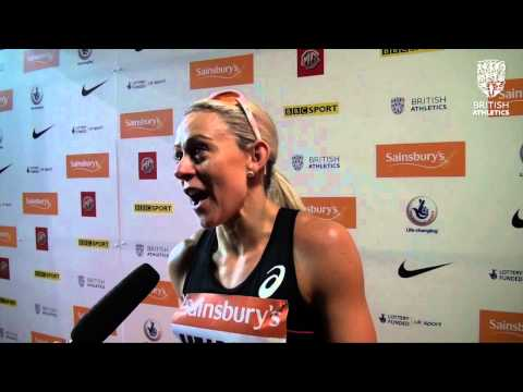 Jenny Meadows  - Sainsbury's Indoor Grand Prix 800m Women
