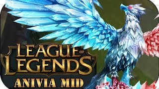 UNVERSCHÄMTER DAMAGE! ANIVIA MID | League of Legends Gameplay deutsch