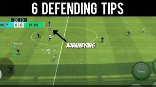6 Defending Tips You Must Know in PES 2018 Mobile