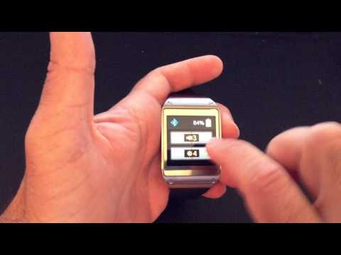 Samsung Galaxy Gear: How to navigate and use gestures