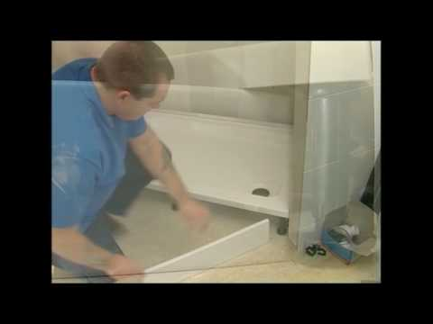 Daryl Shower Enclosure Installation - Part 1 - Shower Trays