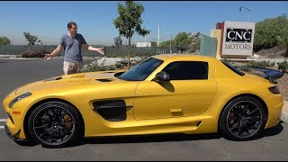 The Mercedes SLS AMG Black Series Is the Ultimate Mercedes Supercar