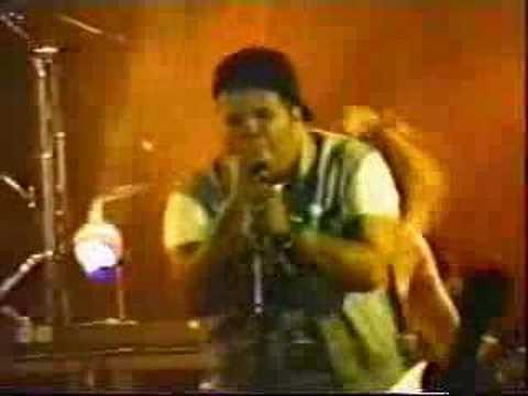 Sepultura e João Gordo  BH 1989
