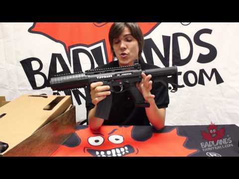 Official Badlands Paintball - Tippmann X7 Phenom Super Pack Unboxing