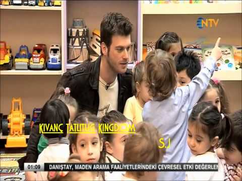 Kivanc Tatlitug in the campaign(herşey çocuklar icin)23.4.2013_ كيفانج يدعم حملة كل شيء من اجل الاطفال