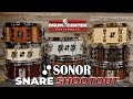 Sonor Snare Drum Shootout! SQ2, Phonic And One Of A Kind!