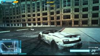 NFSMW Best Police Escape